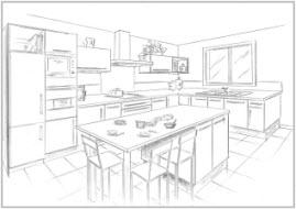 Lijn in keuken